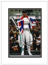 Lewis Hamilton Autograph Signed Photo - Formula 1